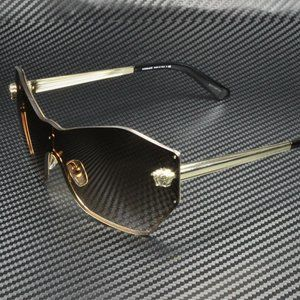 Versace Pale Gold 43mm Sunglasses! NEW!